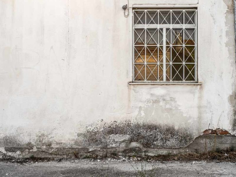 old house window alonia greece