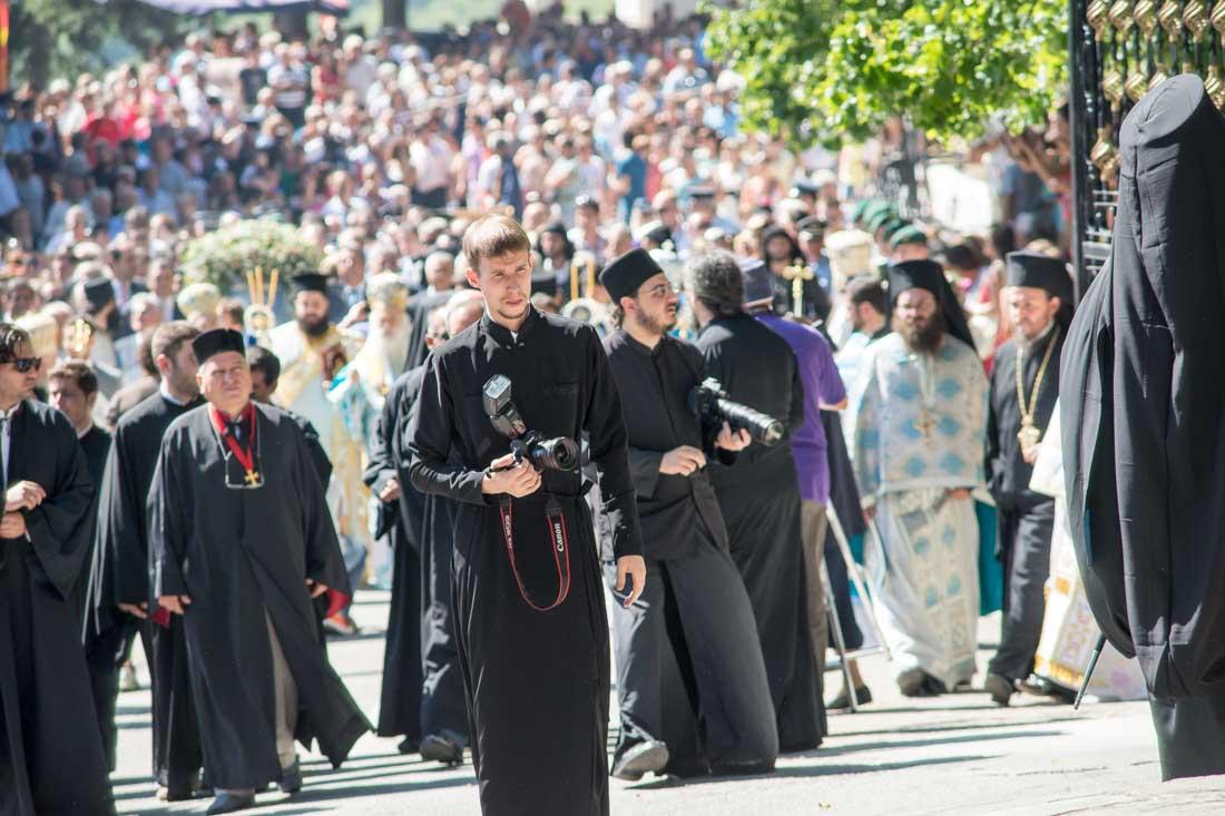 Sumela Monastery Greece vermio Priest photographer