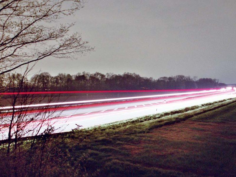 street light Long-exposure photography krefeld a52 Germany