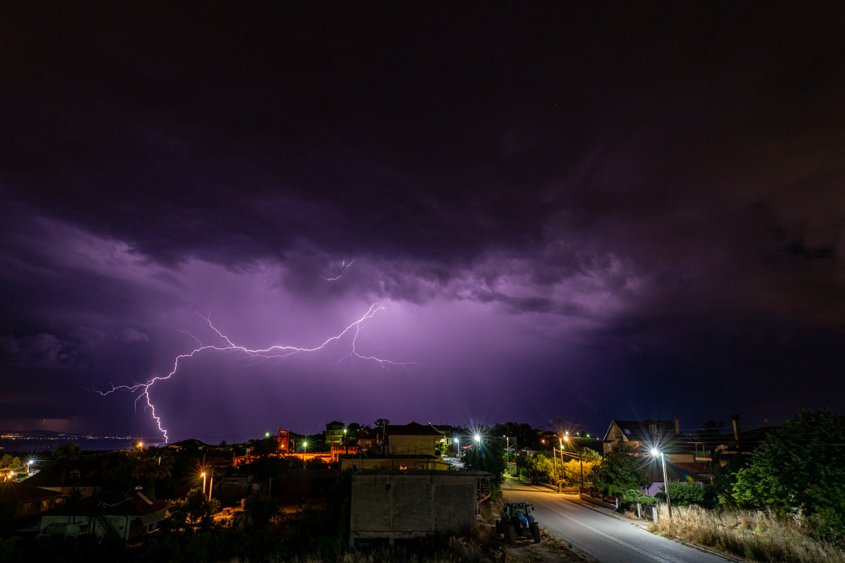 Thunderstorm photos 2020